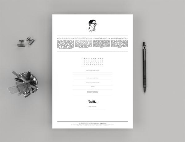 Certificate Notte ART