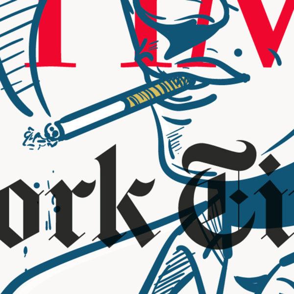 New York Time Notte ART
