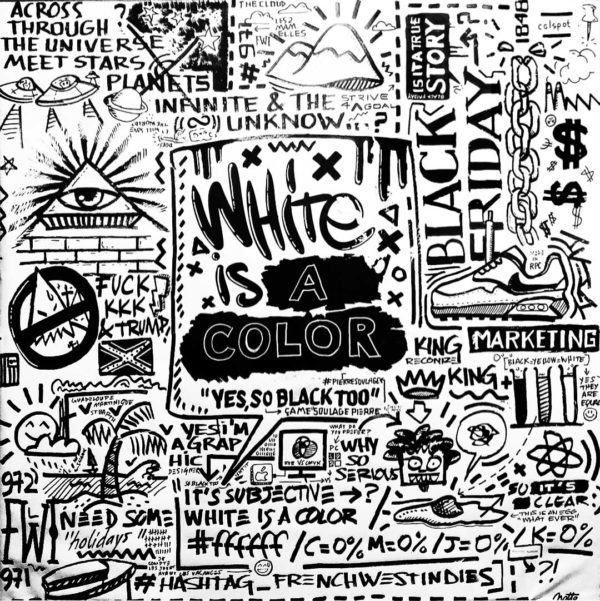 White is a color so black Notte ART
