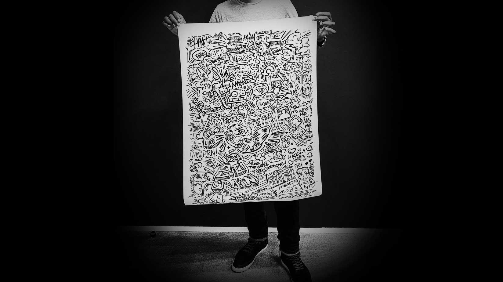 NOTTE | Laurent NOTTE | doodle art - DOODLE
